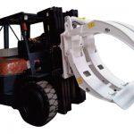 Forklift Attachments 360 Rotation Single Arm ქაღალდის სამაგრები