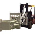 Forklift საბურავების მართვის დანართი ტელესკოპური საბურავების დამჭერები