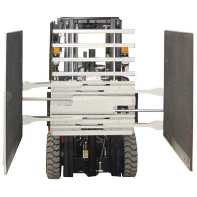 Forklift Attachment მუყაოს სამაგრი კლასი 3 & 1220 * 1420 მმ მკლავის ზომა