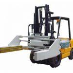 Forklift ბლოკჩეინები ან აგურის დამჭერები 2.5t არაჯანსაღი Forklift ბლოკადი