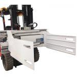 ეკონომიური Forklift Revoling Bale Clamp წარმოება
