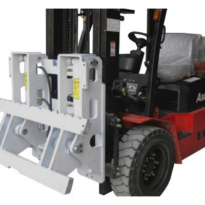 Forklift დანართი Hinged ჩანგლები