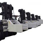 2.7 ტონა Forklift Bale სამაგრი დანართები