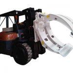 კლასი 2 Forklift დანართი მბრუნავი ქაღალდის Roll Clamp