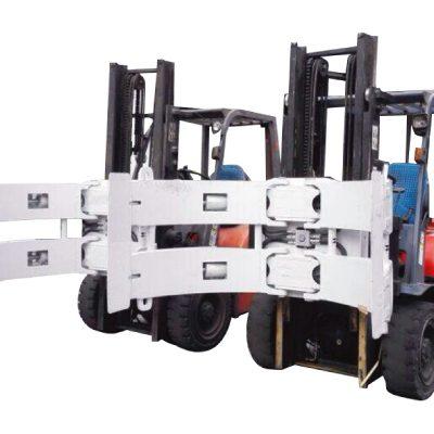 ჰიდრავლიკური Forklift 25f ქაღალდის Roll Clamp ნაწილები, რომლებიც გამოიყენება თაბაშირის ფორუმში