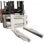 Forklift მიმაგრების ჰიდრავლიკური ბლოკის სამაგრი