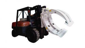 მატერიალური დამუშავების მოწყობილობა Forklift Paper Roll Clamp