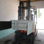 Forklift მრავალფუნქციური დამჭერი
