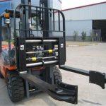 ჰიდრავლიკური Forklift დანართები სინქრონული დამაგრების ჩანგლები