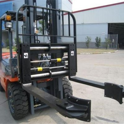 ჰიდრავლიკური Forklift დანართები სინქრონული დამაგრების ჩანგლები სამშენებლო მასალებისთვის